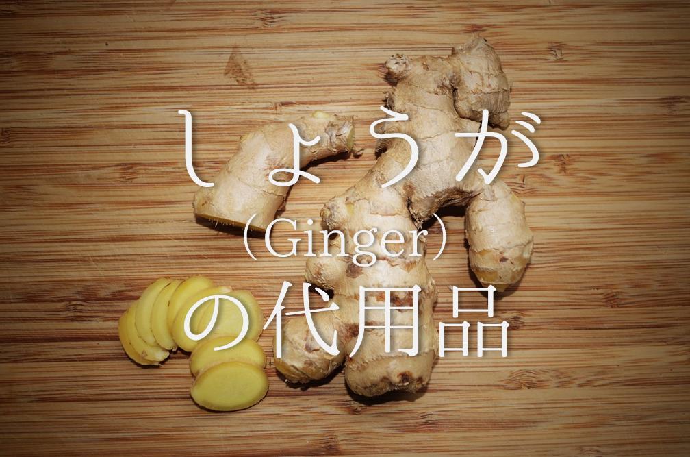 【生姜の代用品 11選】にんにく・紅しょうが・チューブタイプなど代替品を紹介!