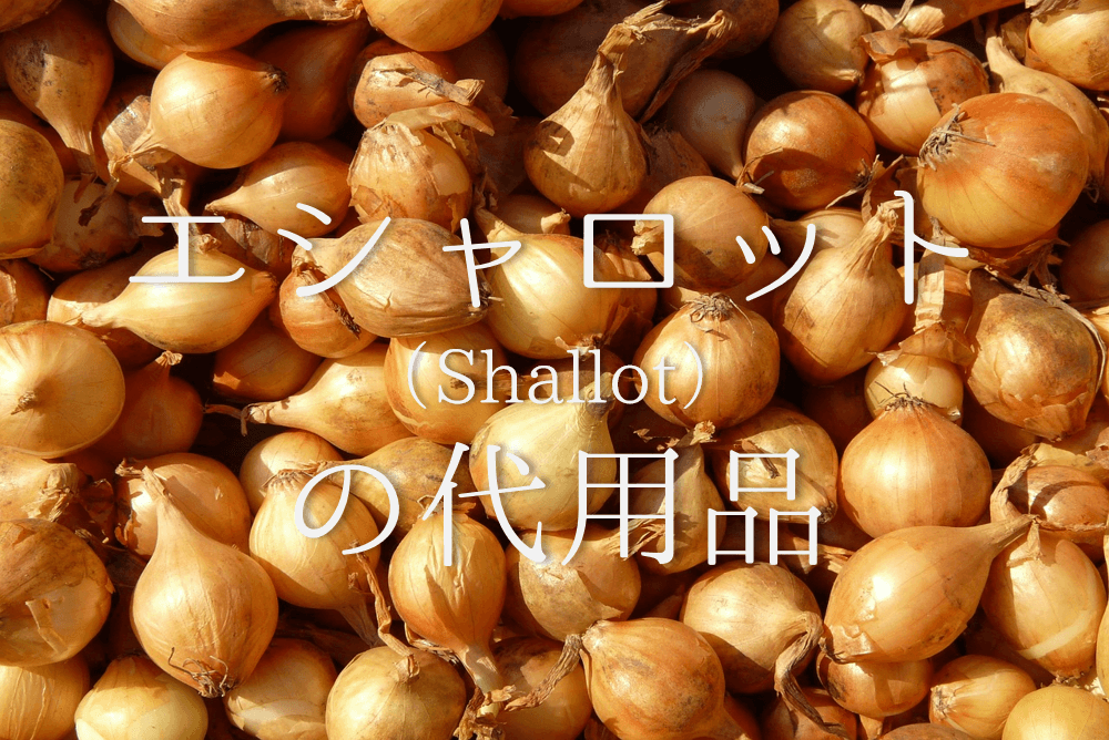 【エシャロットの代用 6選】代わりになるのはコレ!!玉ねぎなどオススメ代替品を紹介!