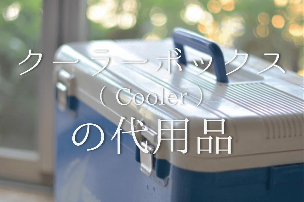 【クーラーボックスの代用品 4選】超・便利!発泡スチロール・ダンボールなどの代替品!